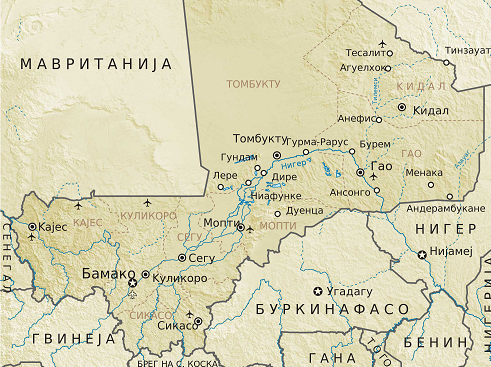 Захват заложников в Мали: среди погибших при теракте есть россияне