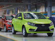 Стоимость новой модели «АвтоВАЗа» Lada Vesta превысила полмиллиона рублей