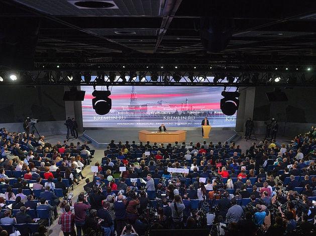 Пресс-конференция Владимира Путина 2015 глазами западной прессы от DK.RU