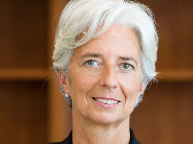 На фото: директор-распорядитель МВФ Кристин Лагард