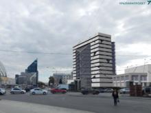 Градсовет согласовал строительство нового корпуса УрГЭУ напротив Цирка / ЭСКИЗЫ