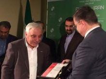 «Ростсельмаш» передал Ирану комбайн VECTOR