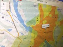 Портал N1 совместно с геодезической академией сделали экологическую карту Новосибирска