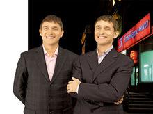 Братья Насоленко открыли в Новосибирске супермаркет одежды