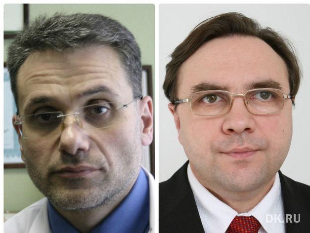 Слева направо: Андрей Белкин, Артур Воробьев