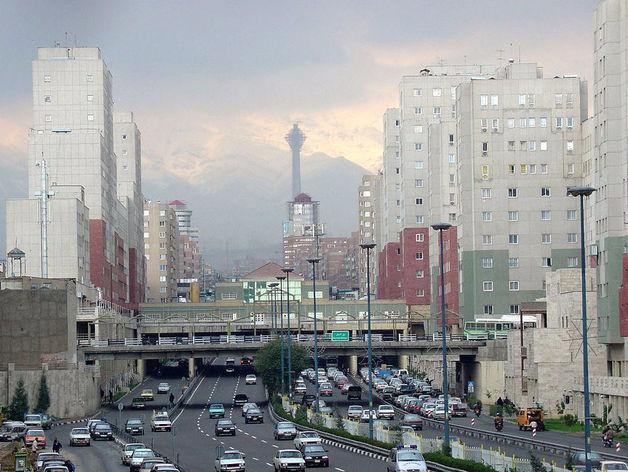 На фото: Тегеран