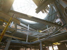 Подземелья «Гринвича»: Экскурсия по стройплощадке пятой очереди ТРЦ-гиганта / ФОТОРЕПОРТАЖ