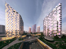 """На территории """"нового центра"""" будет шесть зданий-башен"""