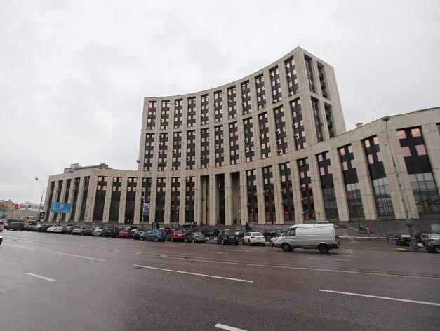 Главный офис Внешэкономбанка в Москве
