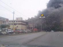 Под Новосибирском загорелся склад известного мебельного магазина