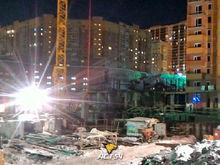 В новосибирской новостройке обрушились перекрытия