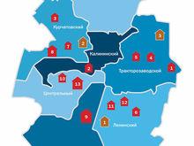 Карта новостроек Челябинска: уходим в Ленинский район?