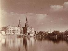 Храм Святой Екатерины построят прямо в акватории городского пруда