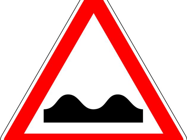 украшения картинка дорожный знак неровная дорога картинка день водителя