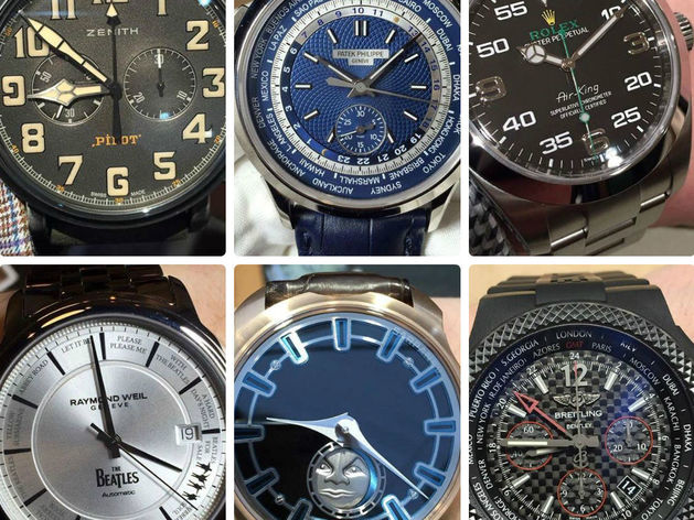 Patek Philippe, Rolex или Zenith? Какие часы станут трендом 2016 года