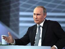 Что думают россияне о работе Путина на посту президента - рейтинг