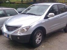В России остановлены продажи автомобилей SsangYong