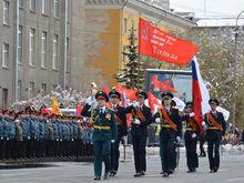 Торжественное шествие в Красноярске в честь Дня Победы (ФОТО, ВИДЕО)