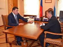 Губернатор назначил на место Грипаса чиновника из мэрии Екатеринбурга