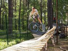 Новосибирские бизнесмены запускают велопарк в Сосновом бору