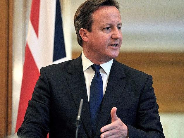 На фото: премьер-министр Великобритании Дэвид Кэмерон