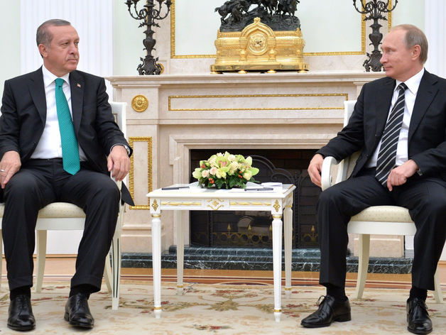 Реджеп Эрдоган и Владимир Путин. Сентябрь 2015 г.