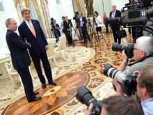 «Откровенно и детально»: в Кремле рассказали об итогах встречи Путина и Керри