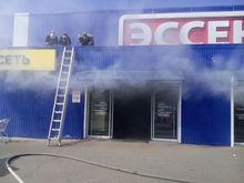 В Татарстане из-за пожара в супермаркете «Эссен» эвакуировали 150 человек