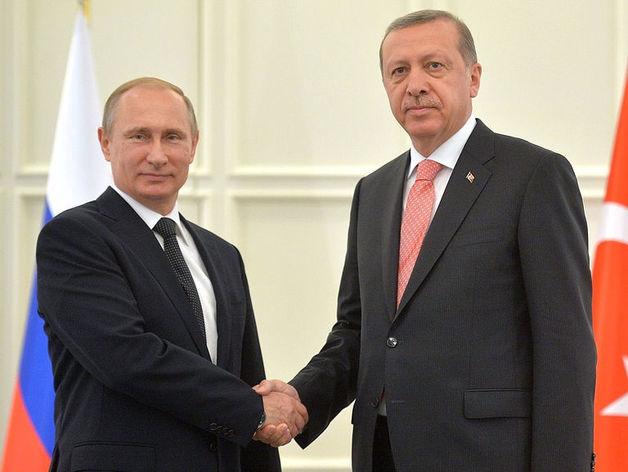 Встреча Путина и Эрдогана: возврат к «турецкому потоку» и турецким пляжам
