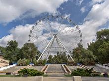 В Ростове-на-Дону запустили второе по высоте колесо обозрения в России