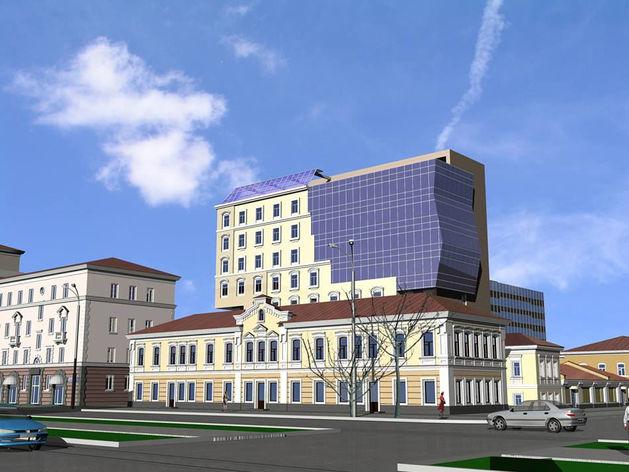 В центре города откроется «купеческий» ресторан при новом отеле