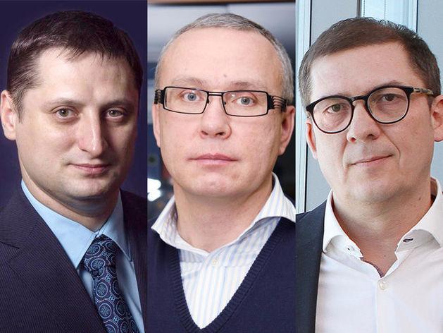 На фото: Виталий Хиль, Алексей Караваев, Алексей Клименко