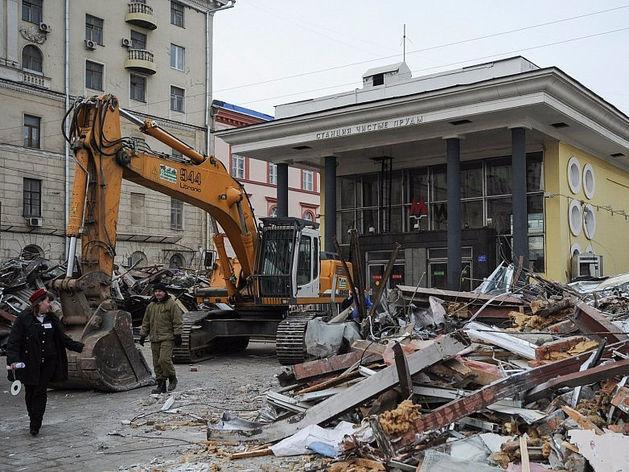 Ночь длинных ковшей-2, или В России началась вторая волна сноса самостроя