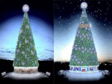 Стали известны вид и стоимость ростовских новогодних елок в 2017 году