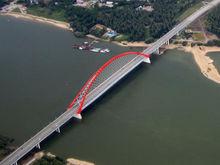 Бугринский мост в Новосибирске получил международную награду