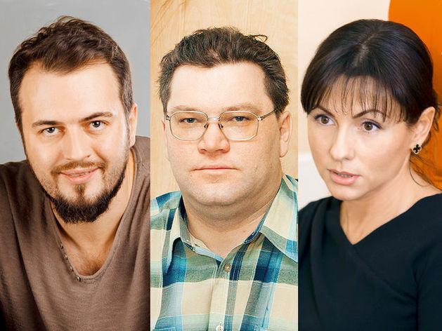 Евгений Кобзев, Анатолий Павлов, Юлия Франгулова