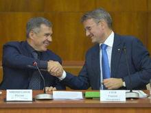 Минниханов и Греф договорились об открытии офиса «Сбербанк-Технологии» в Иннополисе