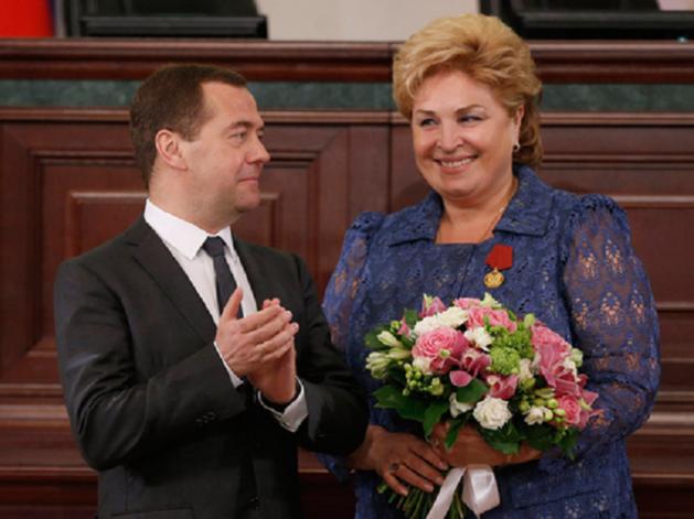 Дмитрий Медведев и Татьяна Нестеренко