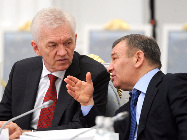 Геннадий Тимченко и Аркадий Ротенберг