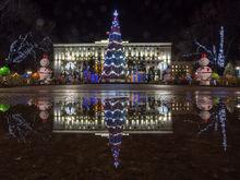 Новогодняя подсветка в Ростове-на-дону начнет работать с 1 декабря