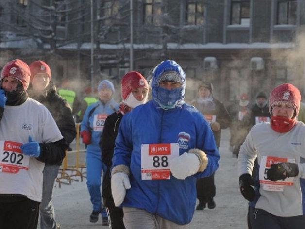 В Екатеринбурге из-за зимнего полумарафона в выходные перекроют центр города: СХЕМА