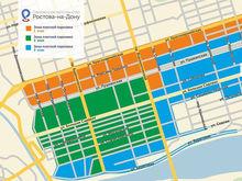 С 12 декабря в Ростове увеличат границы платных парковок