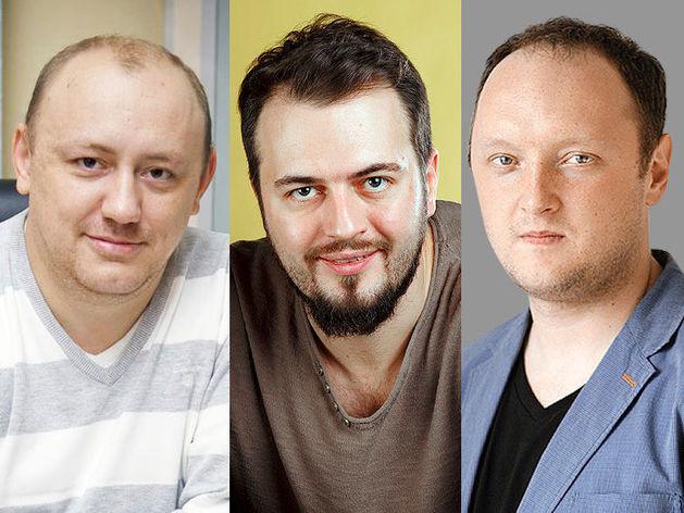 Андрей Завьялов, Евгений Кобзев, Антон Сизов