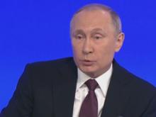 Пять самых важных ответов Путина на пресс-конференции-2016
