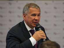 Рустам Минниханов выступил в Москве против «раскулачивания» регионов-доноров