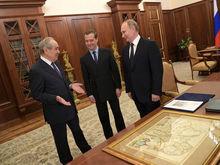В Кремле состоялась встреча Минтимера Шаймиева с Владимиром Путиным