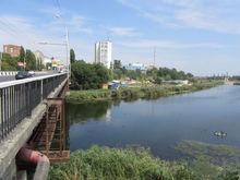 Работы по расчистке русла реки Темерник будут продолжены