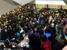 В Татарстане 3 тыс. человек устроили давку в торговом центре из-за розыгрыша призов