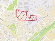 В Заельцовском районе выставлен на продажу крупный участок под строительство