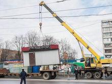 В Казани за год снесли 249 киосков